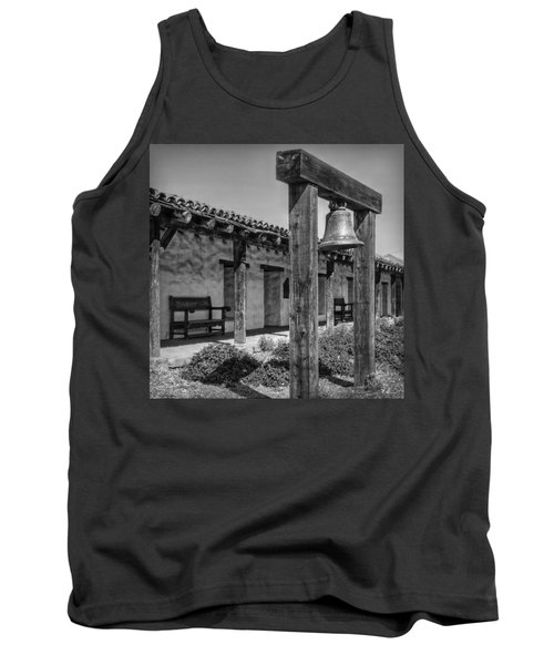 The Mission Bell B/w Tank Top by Hanny Heim