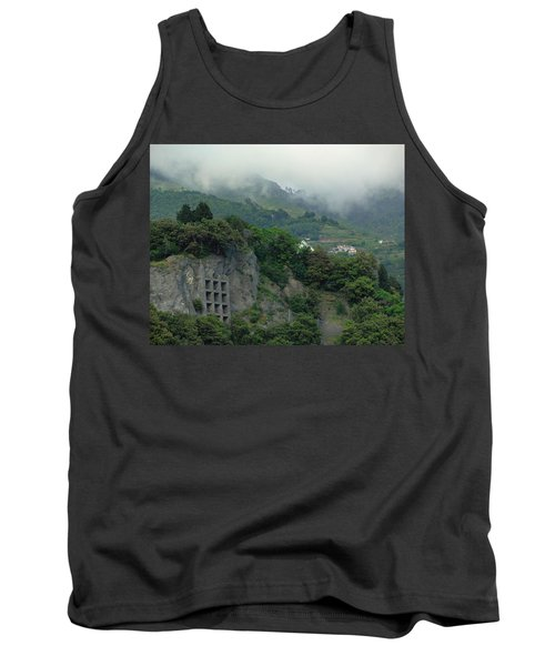Tank Top featuring the photograph The Mist Cometh by Natalie Ortiz
