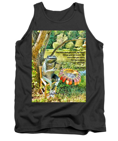 The More That You Read... Tank Top by Jean Goodwin Brooks