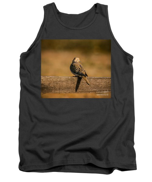 The Morning Dove Tank Top by Robert Frederick