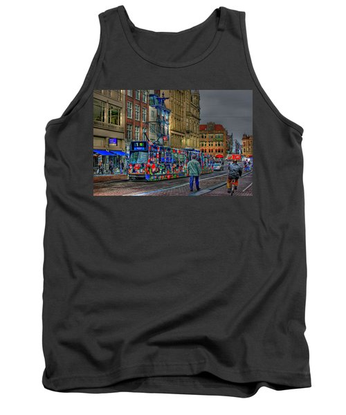 Tank Top featuring the photograph The Morning Rhythm by Ron Shoshani