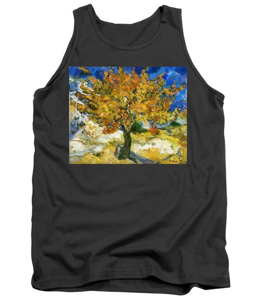 The Mulberry Tree After Van Gogh Tank Top