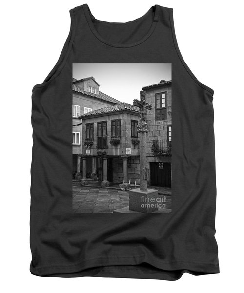 The Old Firewood Marketplace Bw Tank Top