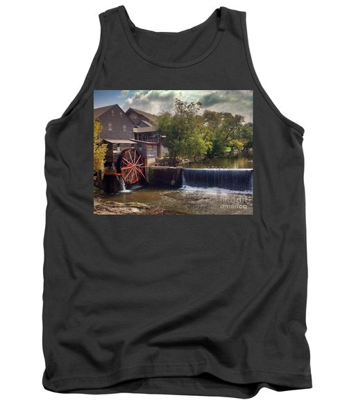 Tank Top featuring the photograph The Old Mill by Janice Spivey