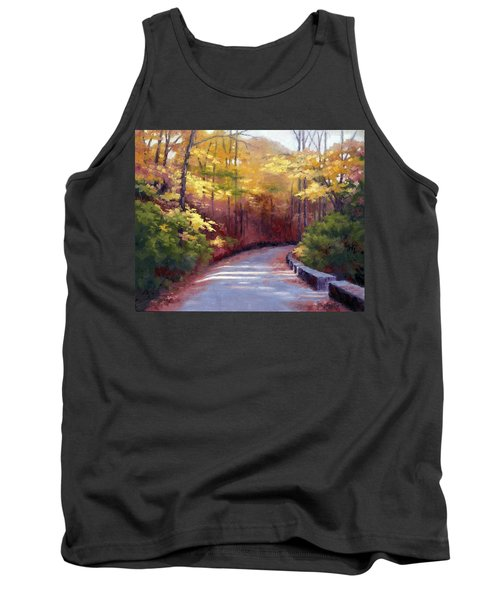 The Old Roadway In Autumn II Tank Top by Janet King
