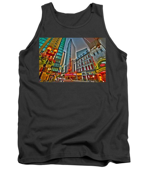 The Paramount Center And Opera House In Boston Tank Top