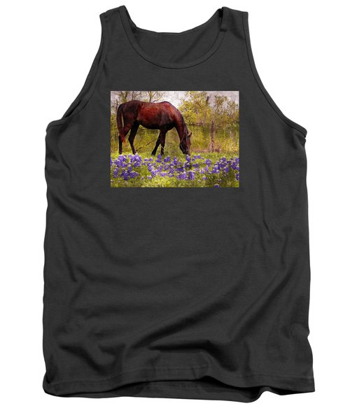 The Pasture Tank Top by Kathy Churchman