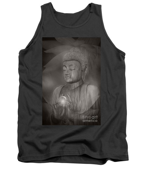 The Path Of Peace Tank Top by Sharon Mau