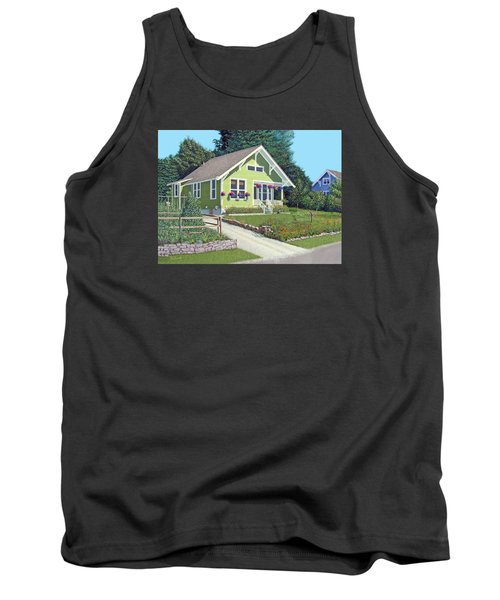 Our Neighbour's House Tank Top by Gary Giacomelli