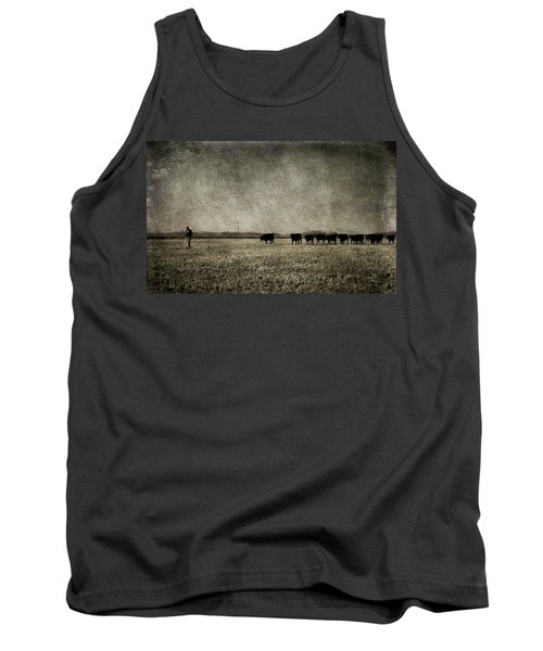 The Pied Piper Of Angustown Tank Top by Cynthia Lassiter