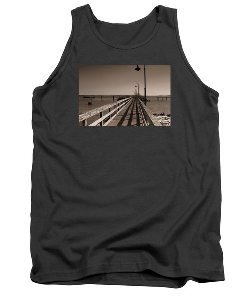 Tank Top featuring the photograph The Pier by David Jackson
