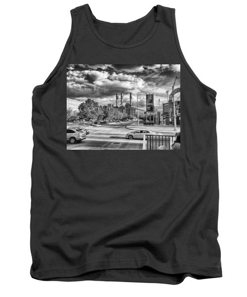 Tank Top featuring the photograph The Power Station by Howard Salmon