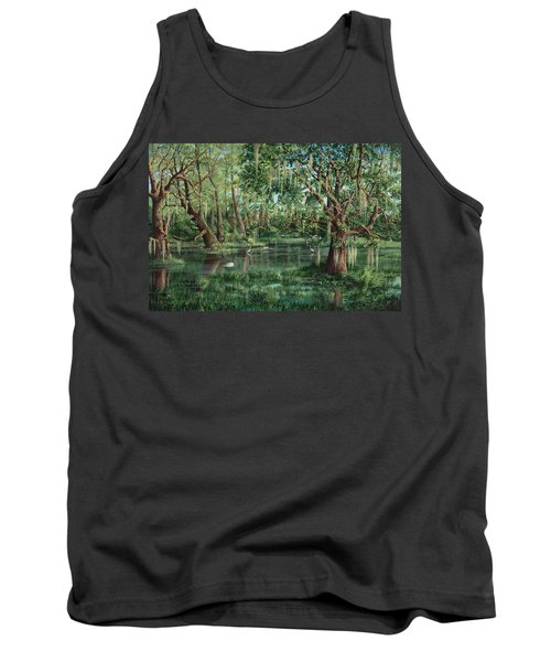 The Preacher And His Flock Tank Top