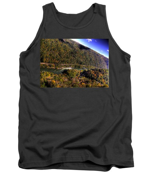 The River Below Tank Top by Jonny D