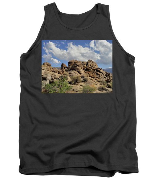 Tank Top featuring the photograph The Rock Garden by Michael Pickett