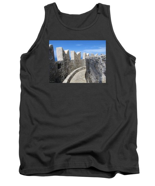 Tank Top featuring the photograph The Rocks And The Path by Ramona Matei