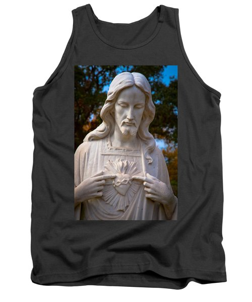 The Sacred Heart Tank Top