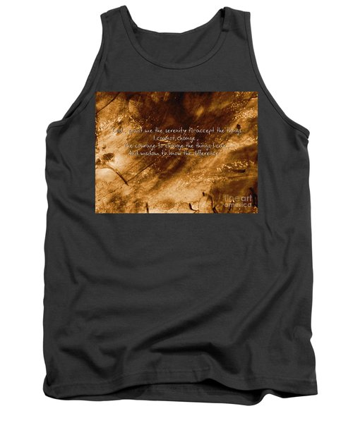 The Serenity Prayer 1 Tank Top