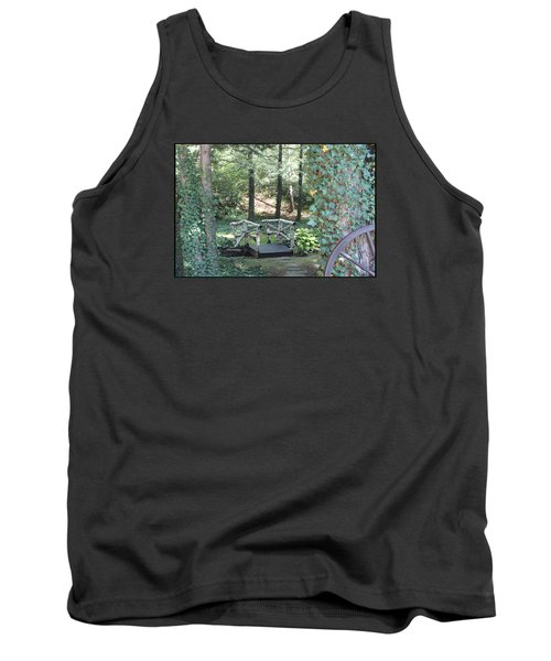 Tank Top featuring the photograph The Path by Debra     Vatalaro