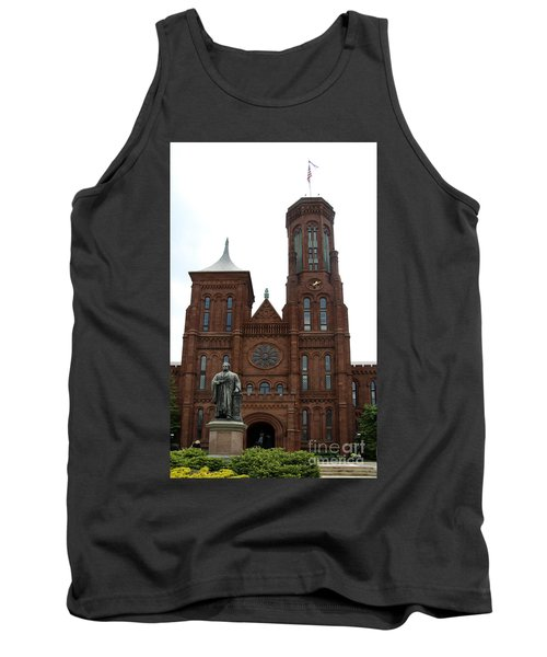 The Smithsonian - Washington Dc Tank Top by Christiane Schulze Art And Photography