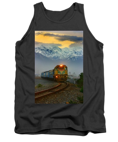 The Southerner Train New Zealand Tank Top