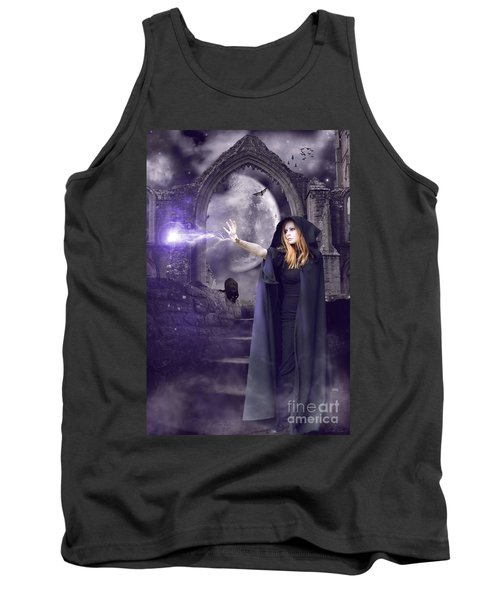 The Spell Is Cast Tank Top by Linda Lees