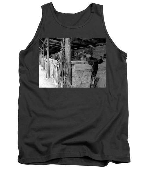 Tank Top featuring the photograph Very Stable by Natalie Ortiz