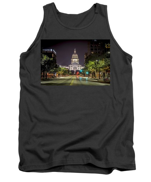 The Texas Capitol Building Tank Top