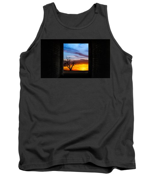 The Tunnel   Sunset1 Tank Top