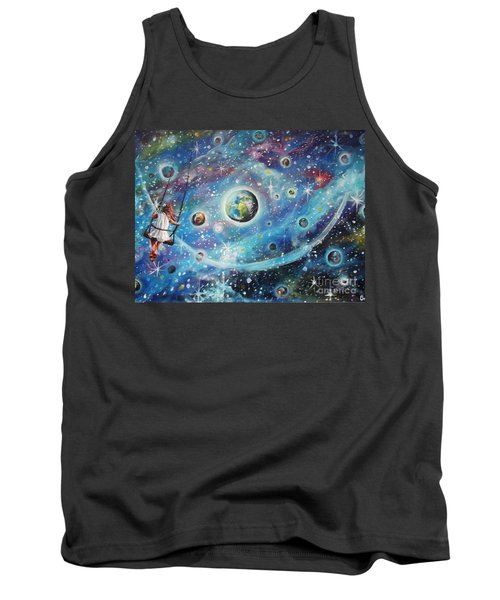 The Universe Is My Playground Tank Top