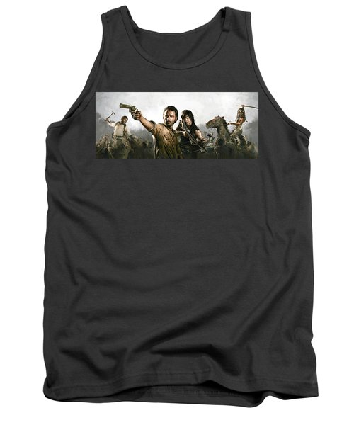 The Walking Dead Artwork 1 Tank Top
