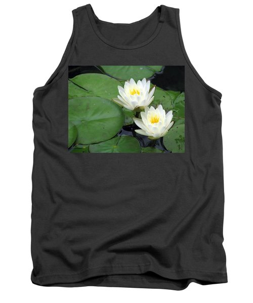 Tank Top featuring the photograph The Water Lilies Collection - 06 by Pamela Critchlow