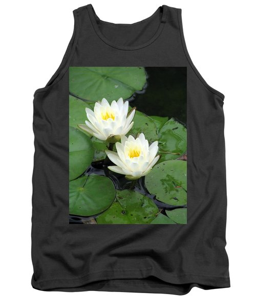 Tank Top featuring the photograph The Water Lilies Collection - 07 by Pamela Critchlow