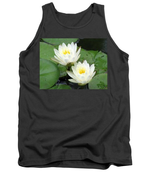 Tank Top featuring the photograph The Water Lilies Collection - 08 by Pamela Critchlow