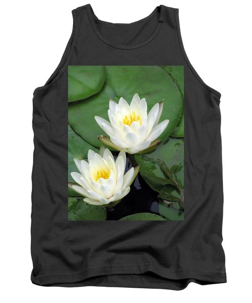 Tank Top featuring the photograph The Water Lilies Collection - 12 by Pamela Critchlow