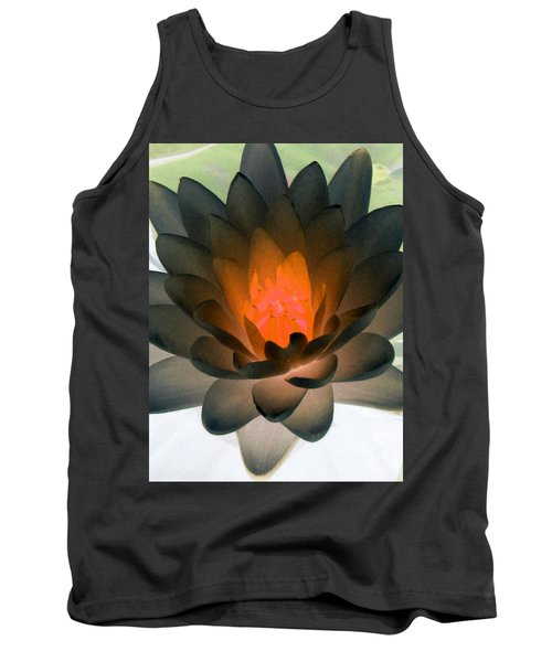 Tank Top featuring the photograph The Water Lilies Collection - Photopower 1036 by Pamela Critchlow