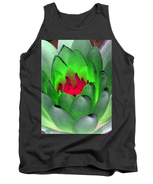 Tank Top featuring the photograph The Water Lilies Collection - Photopower 1122 by Pamela Critchlow