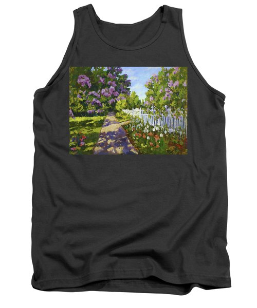 The White Fence Tank Top