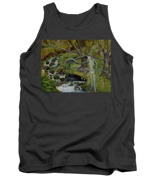 The Willow Woman Washing Her Hair Tank Top