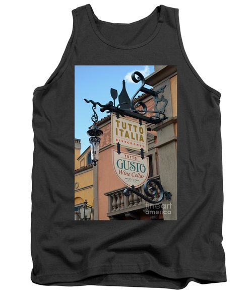 Tank Top featuring the photograph The Wine Cellar by Robert Meanor