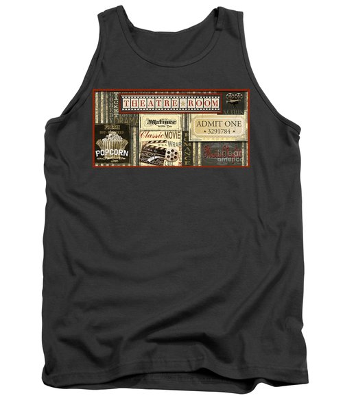 Theatre Room Tank Top by Jean Plout