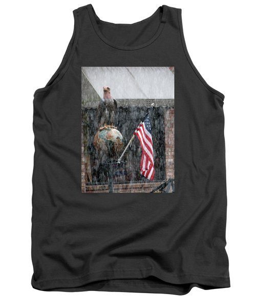 These Colors Dont Run Tank Top by John Glass