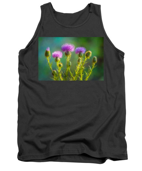 Thistle In The Sun Tank Top