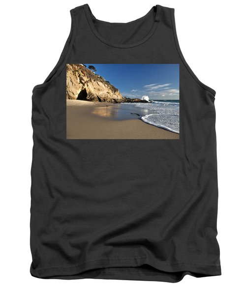 Thousand Steps Beach At Low Tide Tank Top