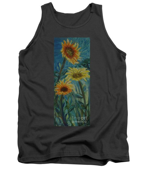 Three Sunflowers - Sold Tank Top