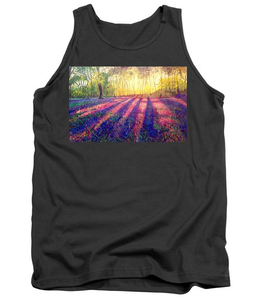 Tank Top featuring the painting Through The Light by Belinda Low