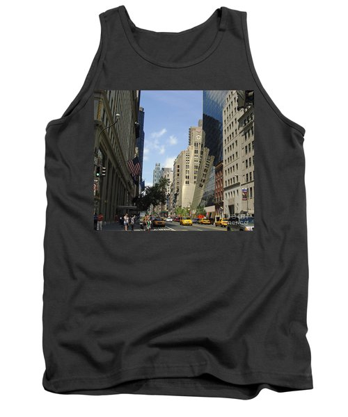 Tank Top featuring the photograph Through The Looking Glass by Meghan at FireBonnet Art