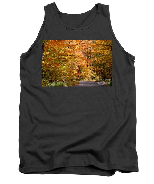 Tank Top featuring the photograph Through The Woods By D. Perry Lawrence by David Perry Lawrence