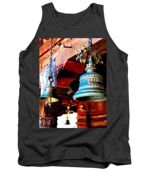 Tibetan Bells Tank Top by Greg Fortier
