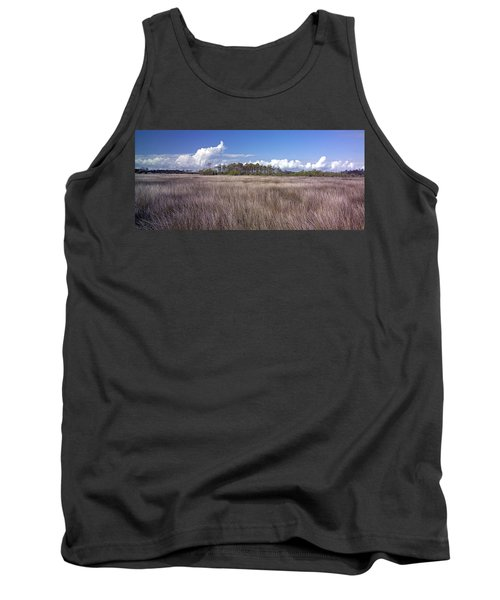 Tank Top featuring the photograph Tidal Marsh On Roanoke Island by Greg Reed